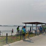 第1回くさつサイクルフェスタ「ちょこっとビワイチ体験サイクリング」実施!