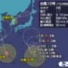 四国一周サイクリングの行程